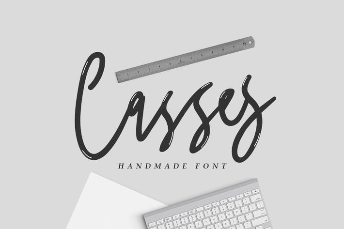 Thumbnail for Casses Font