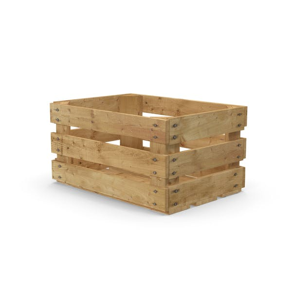 Obstkiste aus Holz