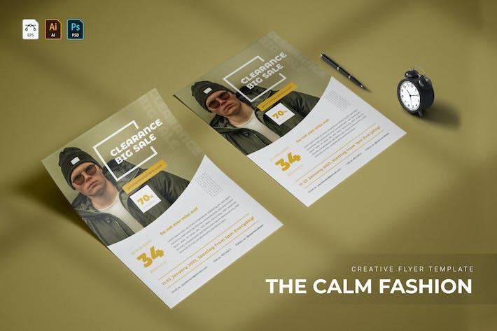 Calm Fashion | Flyer