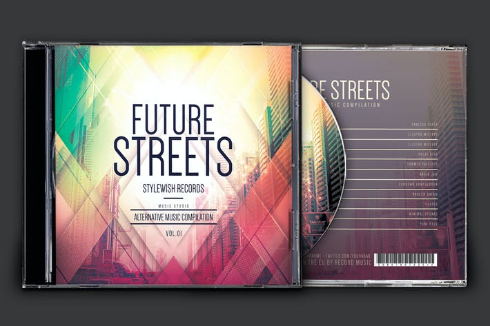 Thumbnail for Future Streets CD Cover Artwork