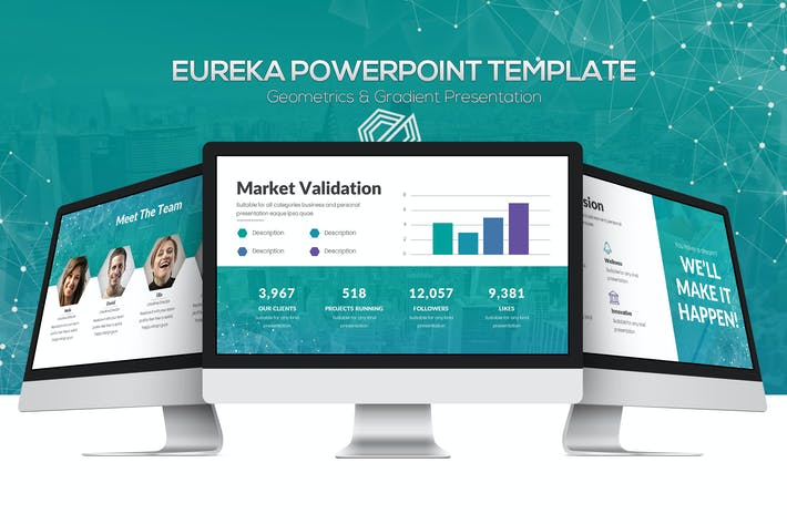 Eureka Powerpoint Template