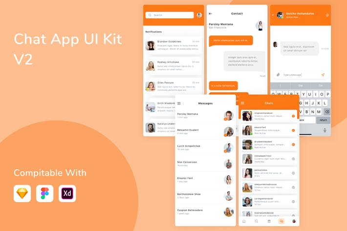 Chat App UI Kit V2