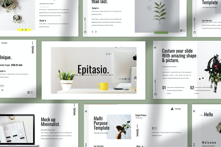 Thumbnail for EPITASIO - Clean Keynote Business Company