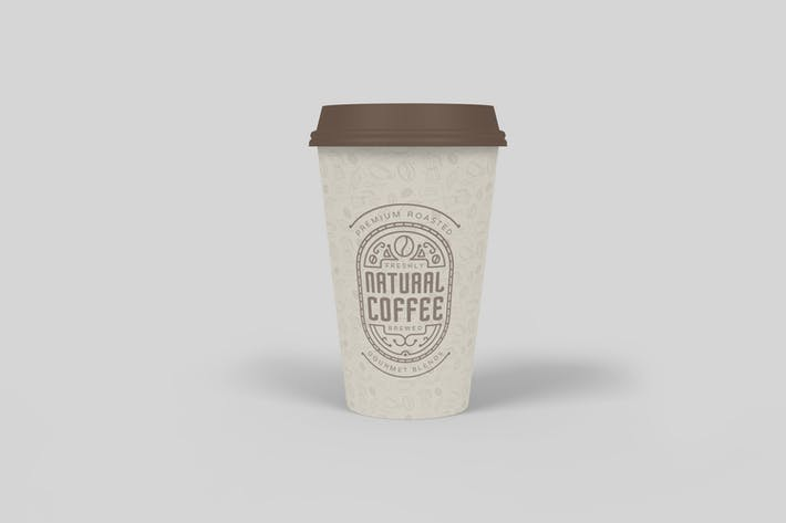 Thumbnail for Coffee Cup Mockup V1