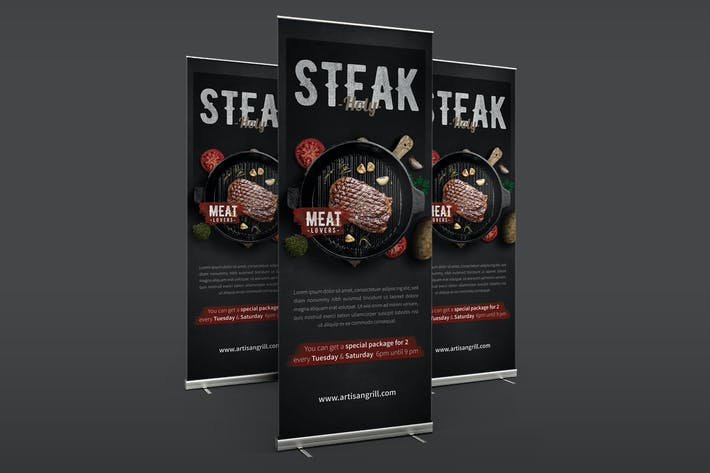 Thumbnail for Steak House Roll Banner