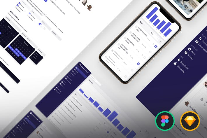 Thumbnail for Dashboard UI Kit 2.0