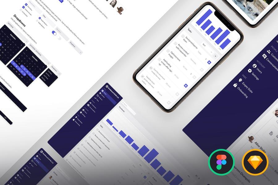 Dashboard UI Kit 2.0