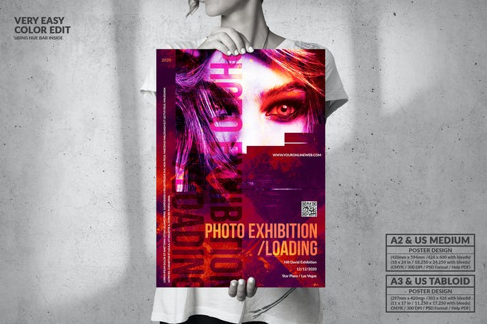 Thumbnail for Loading Photo Event - Big Party Poster Design