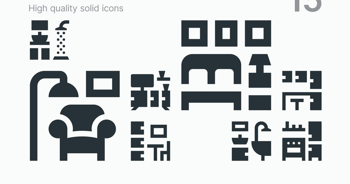 Download Room Icons by polshindanil