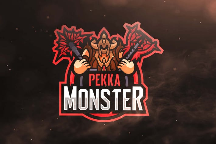 Thumbnail for Pekka Monster Sport and Esports Logo