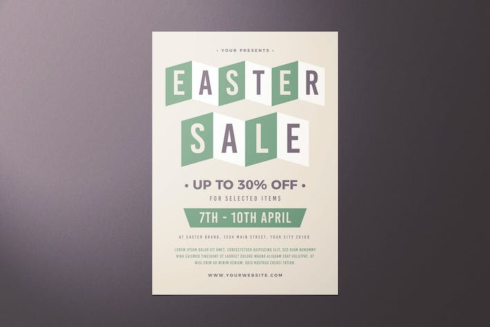 Thumbnail for Easter Sale Flyer