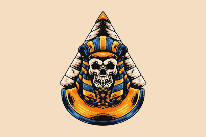Thumbnail for Egyptian Skull And Pyramid