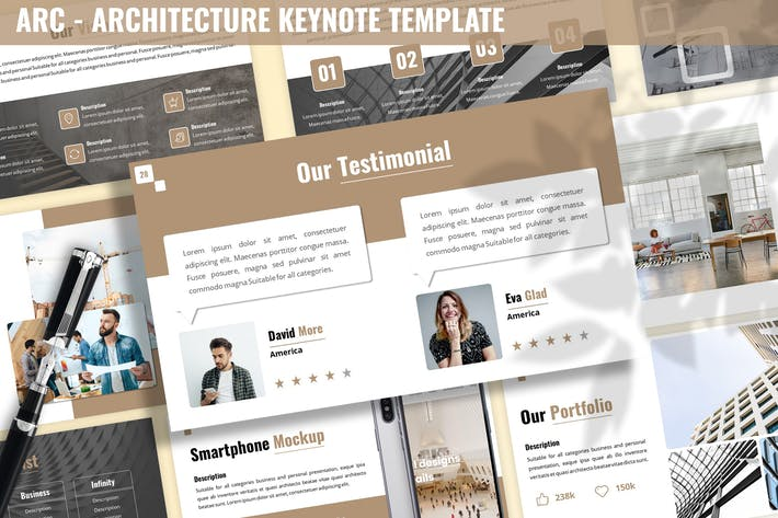 Thumbnail for Arc - Architecture Keynote Template