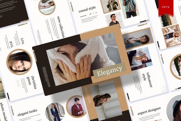 Cover Image For Elegancy | Powerpoint Template