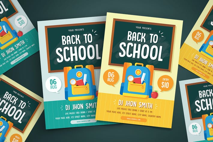 Thumbnail for Back To School Flyer 01