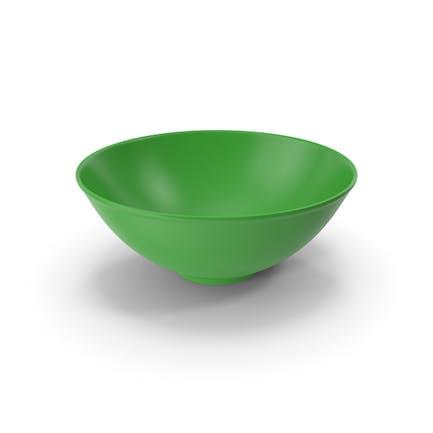 Schale aus Keramik Grün