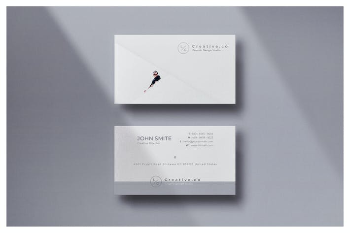 Thumbnail for Minimal Business Card - Vol.21