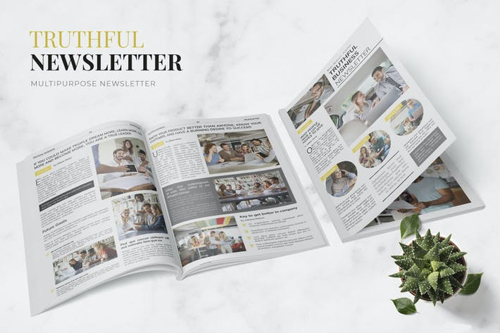 Thumbnail for Truthful Business Newsletter