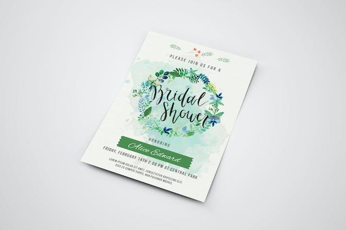 Thumbnail for Bridal Shower Invitation