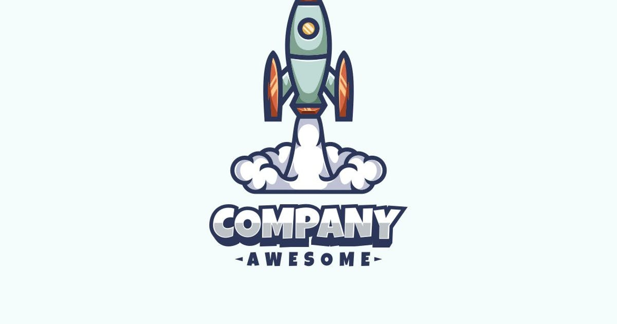 Download Rocket Logo Mascot by maikohatta