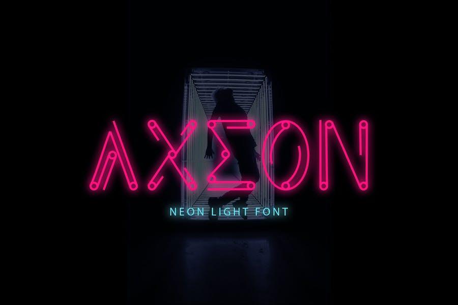 Azeon - Futuristic Tipo de letra DR