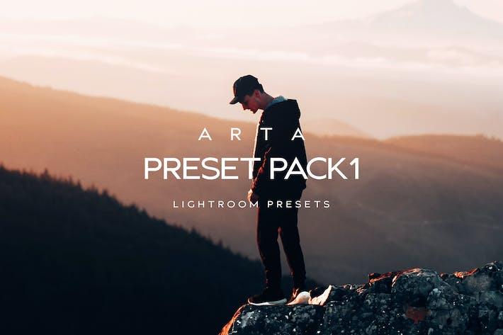Thumbnail for ARTA предустановленный пакет 1 для мобильных и настольных Lightroo