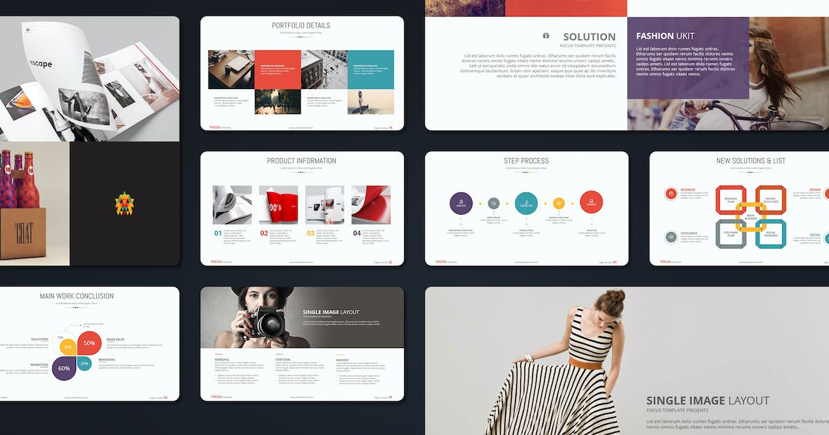 Focus Creative Template by Unknow