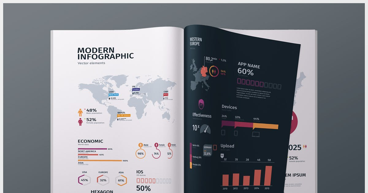Download Modern Editable Infographics vol. 01 by TIT0
