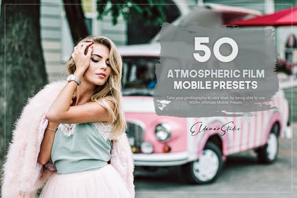 50 Atmospheric Film Mobile Presets Pack