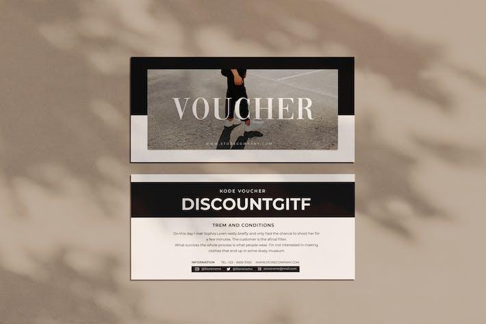 Shoes Voucher