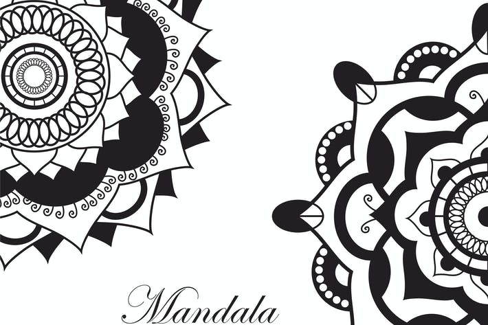 Thumbnail for Mandala.Pagan symbol. Schematic representation
