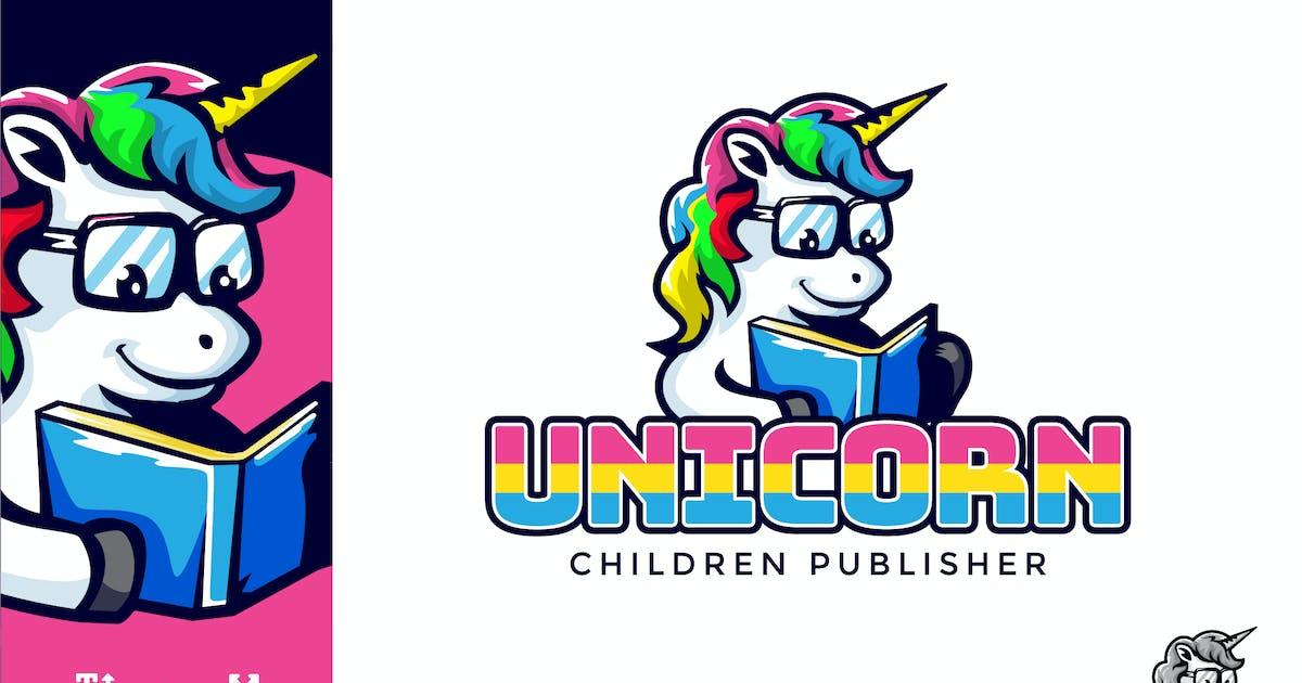 Download Unicorn Children Logo Illustration Vector by naulicrea