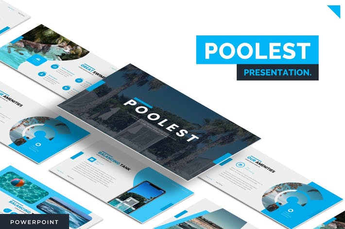 Poolest - Powerpoint Template