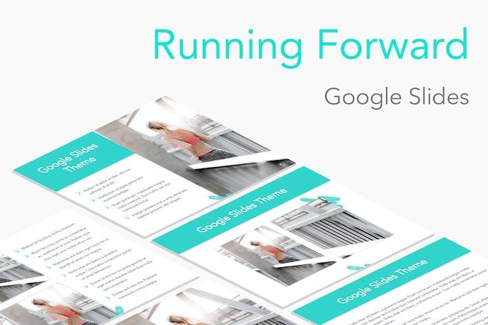 Thumbnail for Running Forward Google Slides