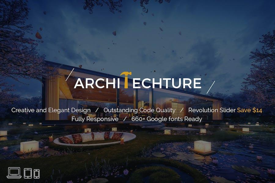 Architecture - Portfolio, Design & Architect Templ
