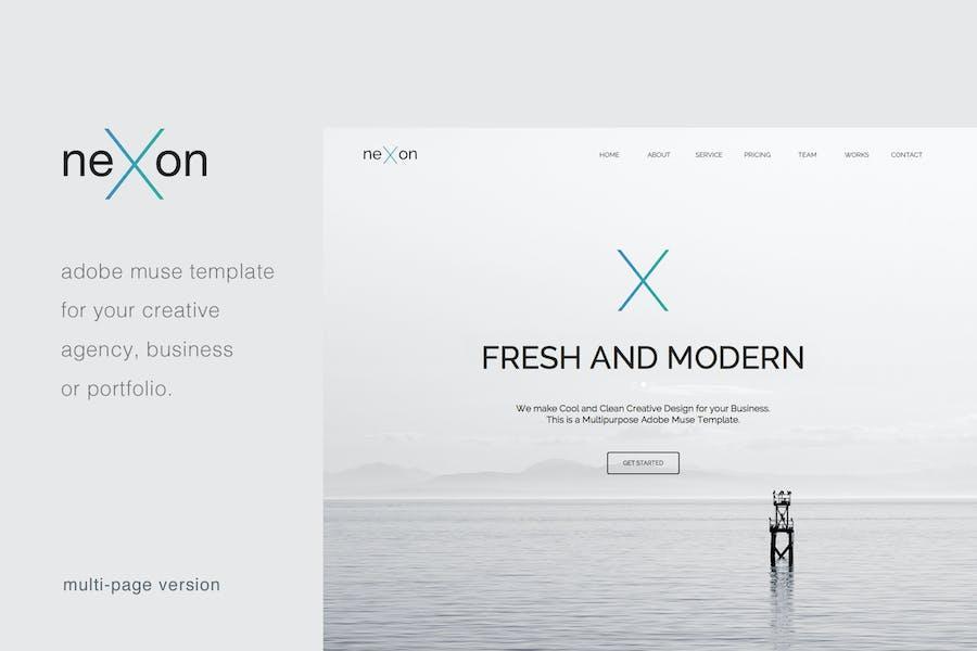 NeXon - Multi-Page Creative Muse Template