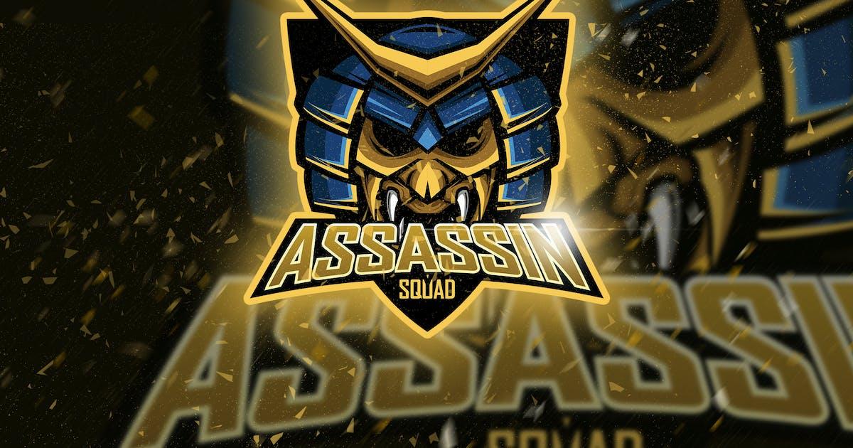 Download Assasin - Mascot & Logo Esport by aqrstudio