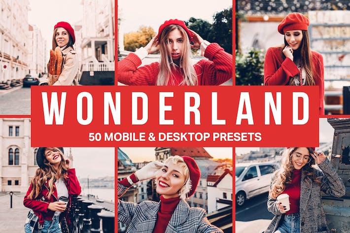 Thumbnail for 50 Wonderland Lightroom Presets and LUTs