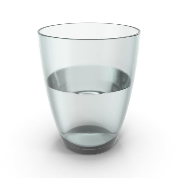 Glass Half Full With Water