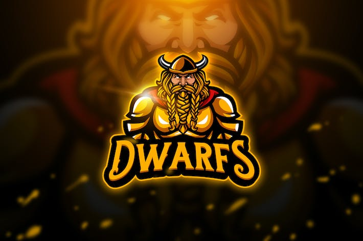 Thumbnail for Dwarfs - Mascot & Esport Logo