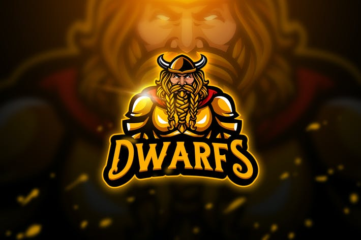 Cover Image For Dwarfs - Mascot & Esport Logo