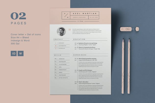 Resume Axel - product preview 5