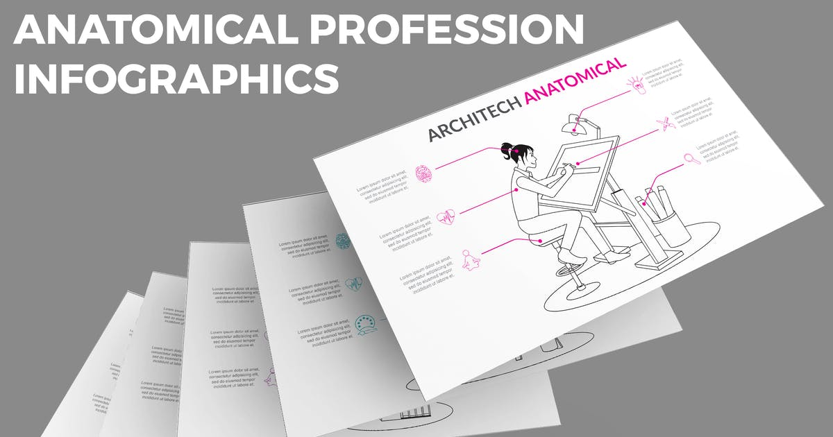 Download Anatomical Profession – Infographics Design by designesto