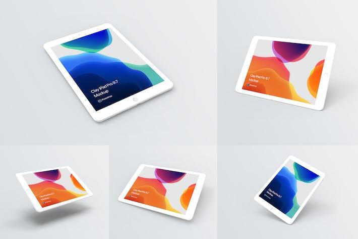 Thumbnail for Clay iPad Mockup