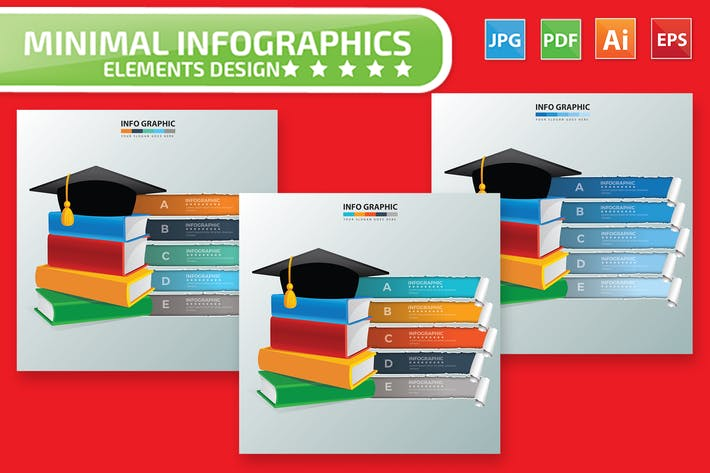Thumbnail for Education Infographic Design