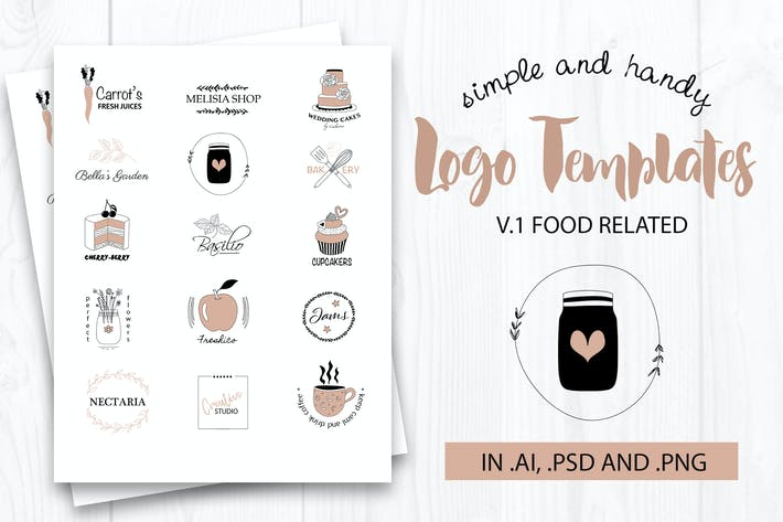 Cover Image For Vector Logo Templates