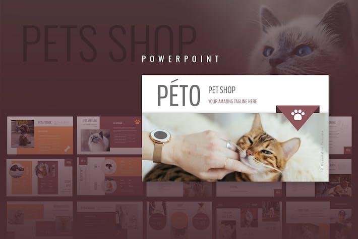 Thumbnail for Peto - Pet Shop Powerpoint Presentation
