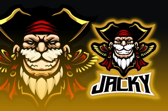 Pirates Esport Logo Design