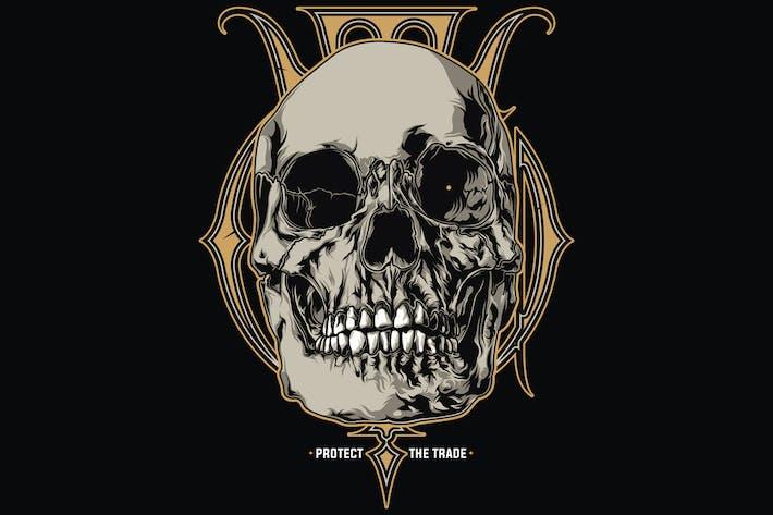 Cover Image For Skull