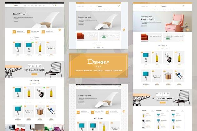 Vina Dongky - Minimal VirtueMart Joomla Template